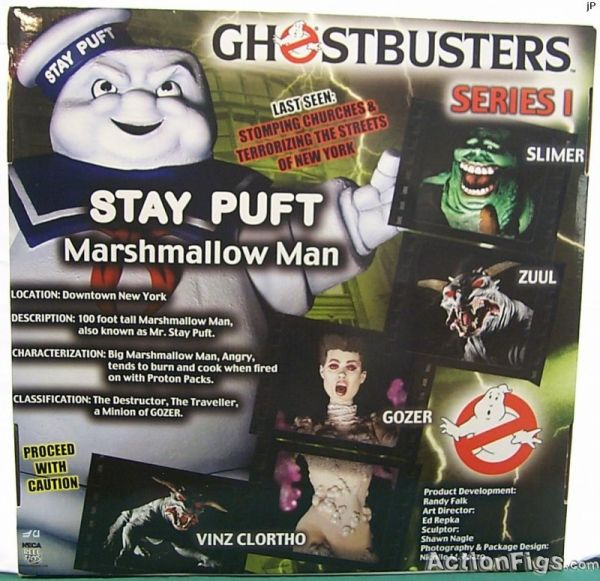 Ghostbusters Series I Stay Puft Marshmallow Man
