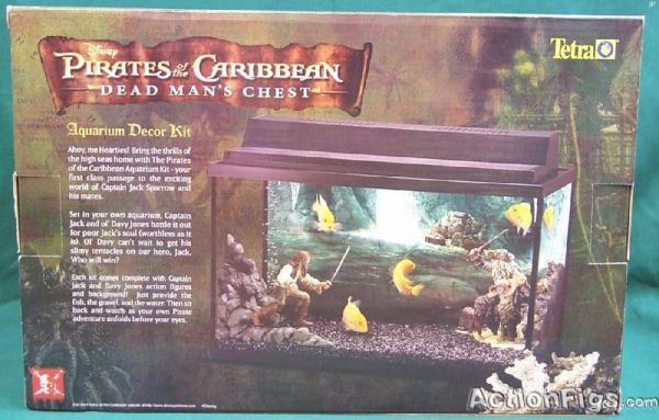 Tetra Dead Man's Chest Aquarium Decor Kit