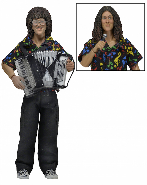 """""""Weird Al"""" Yankovic – Clothed 8"""" Action Figure from NECA Revealed"""