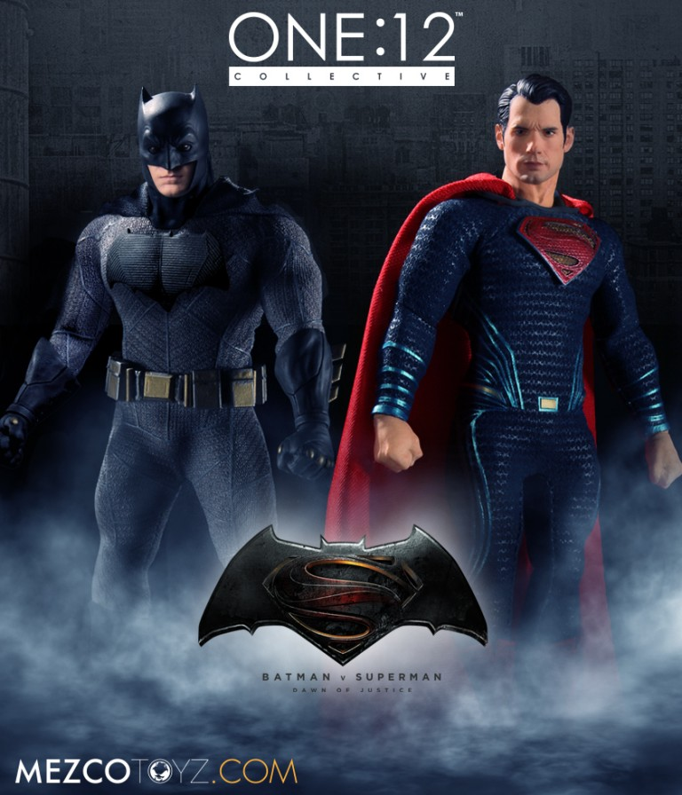 The One:12 Collective Batman V Superman: Dawn Of Justice Action Figures Wow Collectors