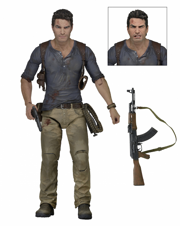 """NECA Uncharted 4 – 7"""" Scale Action Figure – Ultimate Nathan Drake"""