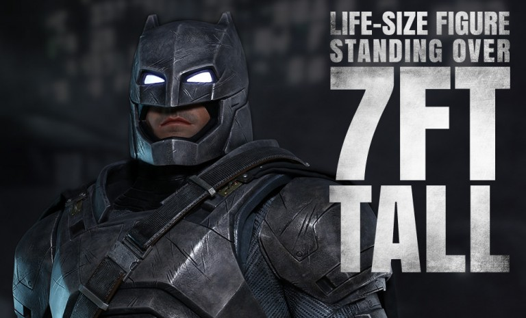 Armored Batman Life-Size Figure by Hot Toys