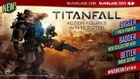 McFARLANE TOYS TEAMS WITH VIDEO GAME GIANT TITANFALL