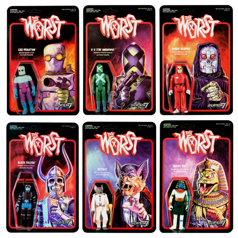 "Super7 Announces ""The Worst"" Animated T.V. Series Action Figures"