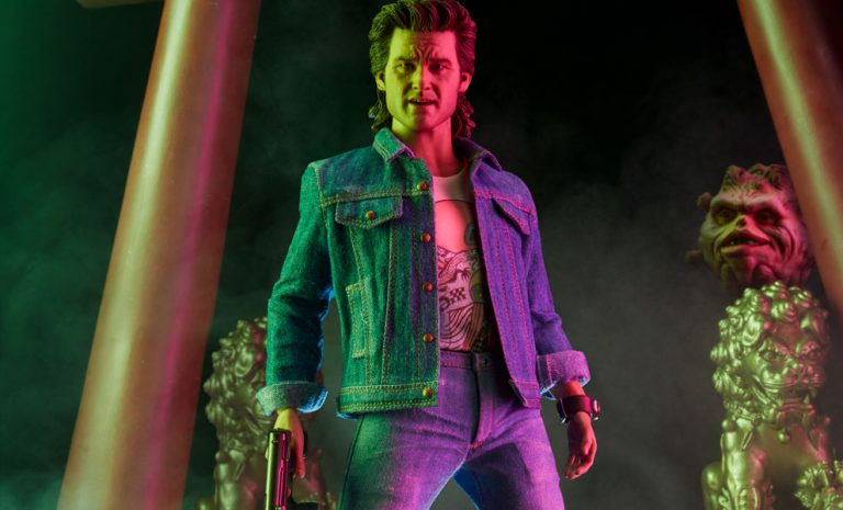 Sideshow Collectibles Big Trouble in Little China Jack Burton Sixth Scale Figure