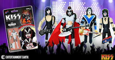 KISS Unmasked Action Figures Are Now Blister Carded