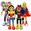 New DC Super Hero Girls and Teen Titans Go! Plush Figures Coming From Bleacher Creatures