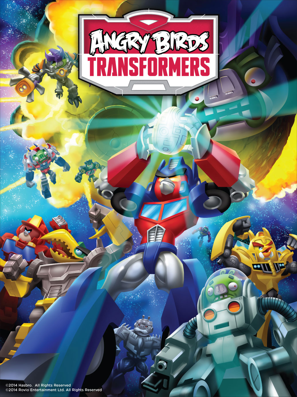 ROVIO AND HASBRO TEAM UP TO PRESENT TRANSFORMERS AND ANGRY BIRDS IN A BRAND NEW MASH-UP