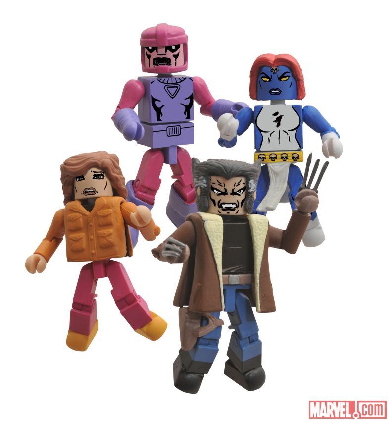 Go Back in Time with SDCC Exclusive X-Men Days of Future Past Minimates