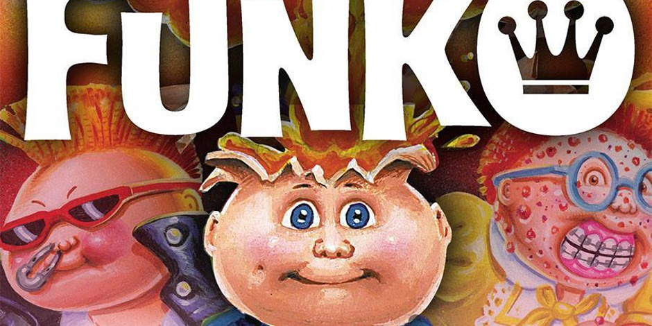 Funko to release Garbage Pail Kids toys, collectables and more