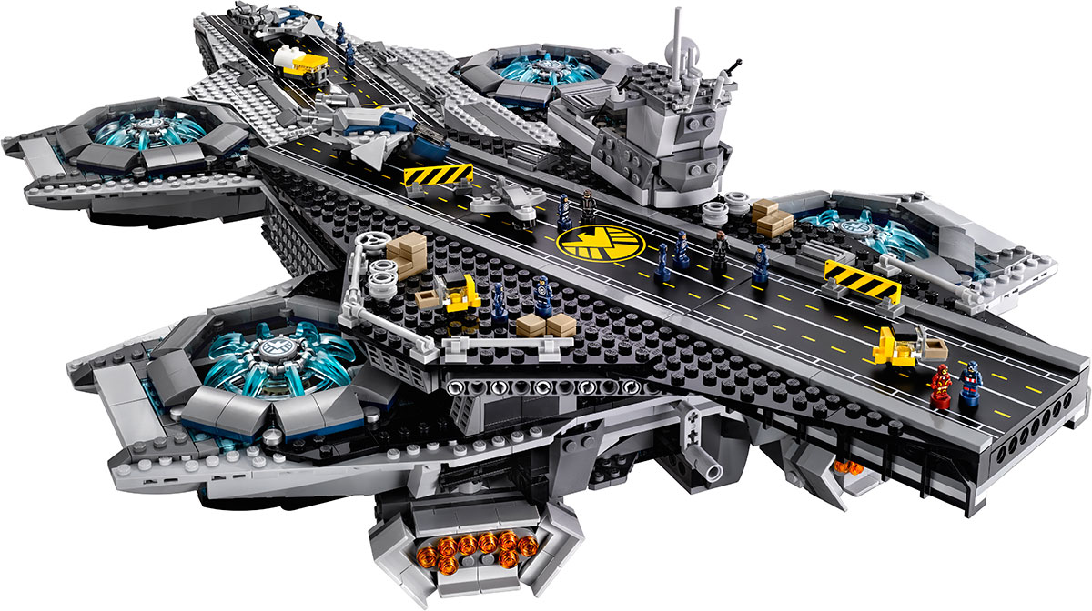 LEGO Group Reveals Avengers The SHIELD Helicarrier
