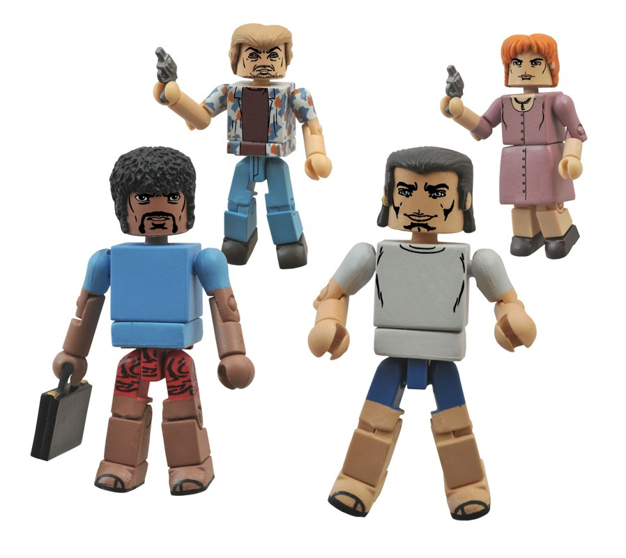 New Pulp Fiction Minimates Box Set Exclusively at Hastings Stores