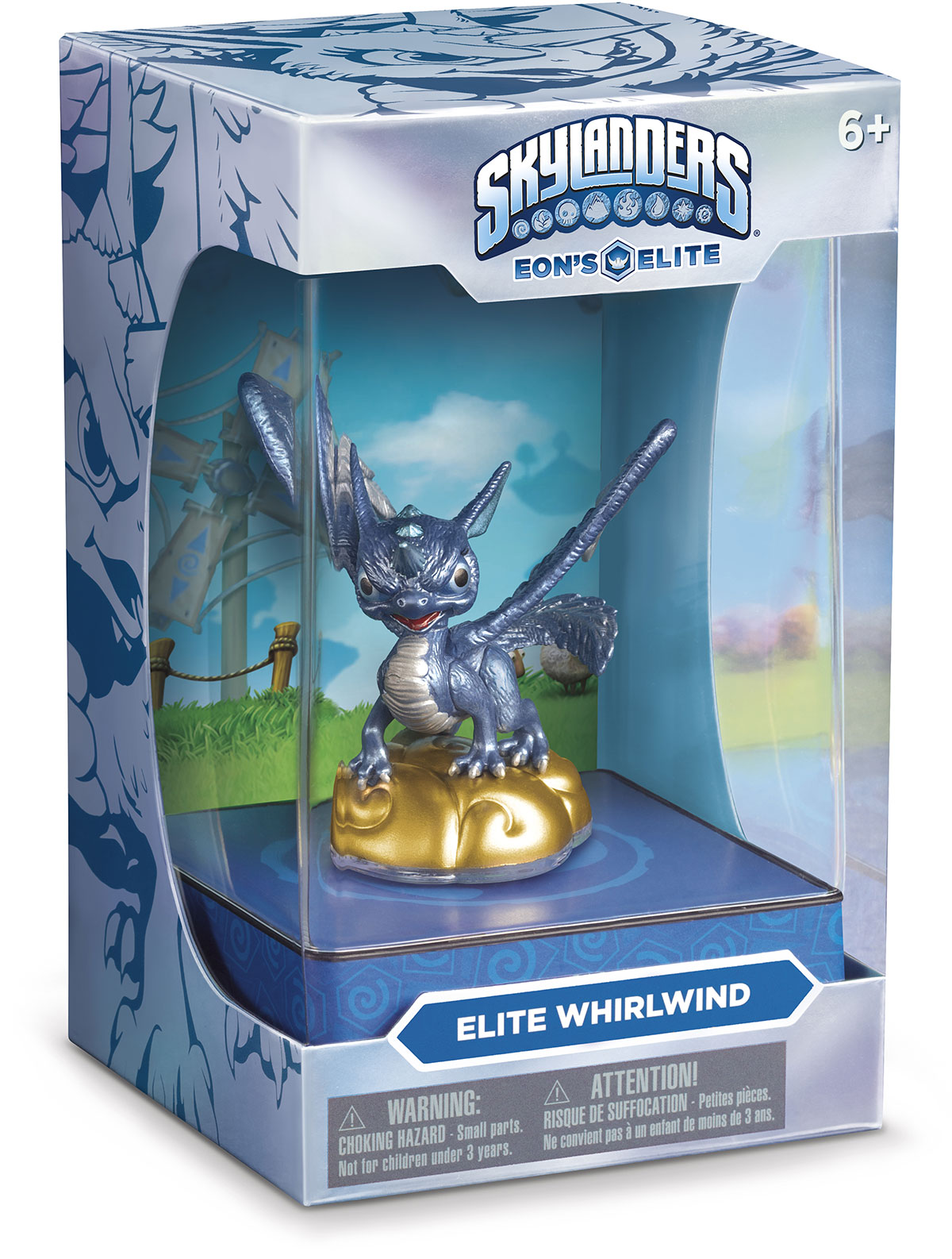 Winterfest Lob-Star Skylander, Latest Eon's Elite Whirlwind and New Merchandise Now Available