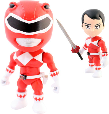 The Loyal Subjects ACTION VINYLS Power Rangers Wave 1
