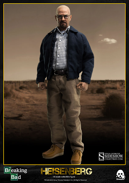 Breaking Bad Heisenberg Sixth Scale Figure by Threezero