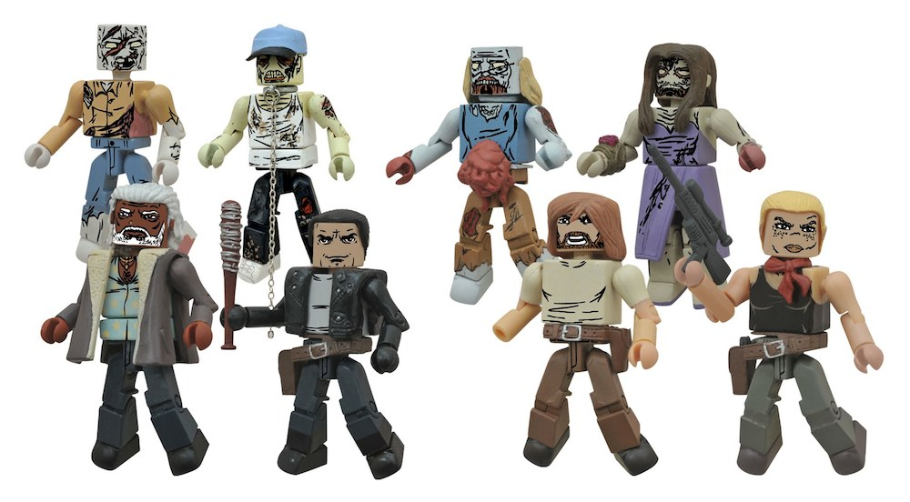 """New Assortment of The Walking Dead Minimates Coming to Toys""""R""""Us!"""