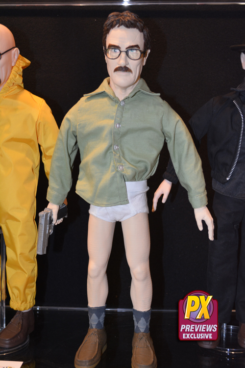 Previews Exclusive Talking Walter White Figure