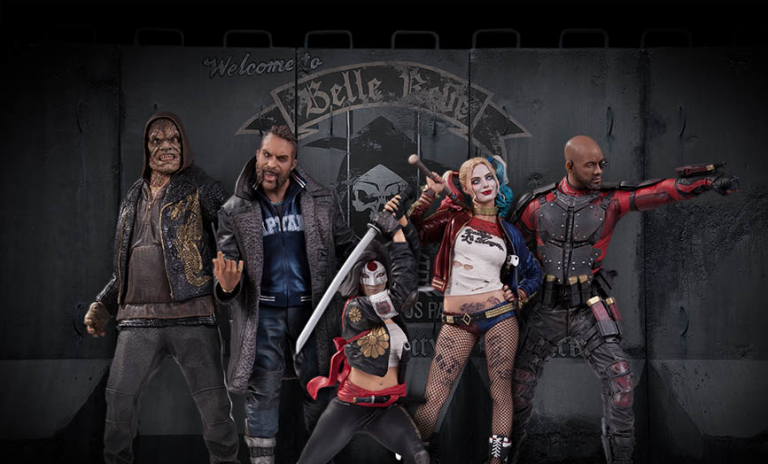 Take a Look at DC Collectibles' SUICIDE SQUAD Statues