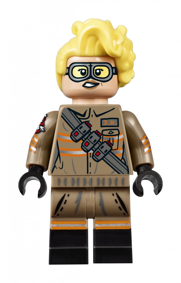 New LEGO Ghostbusters Chris Hemsworth and Kristen Wiig Get the LEGO Minifigure Treatment