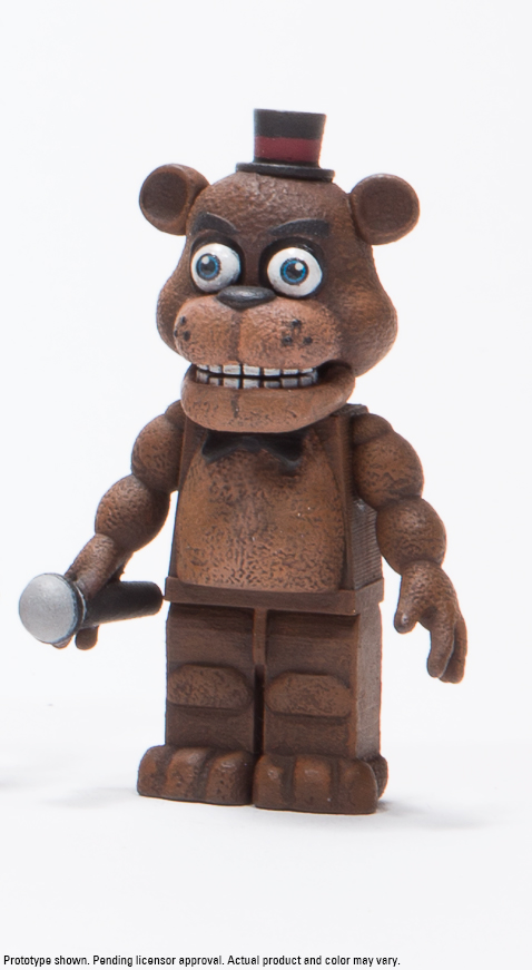McFarlane Toys Announces Five Nights at Freddy's Construction Sets