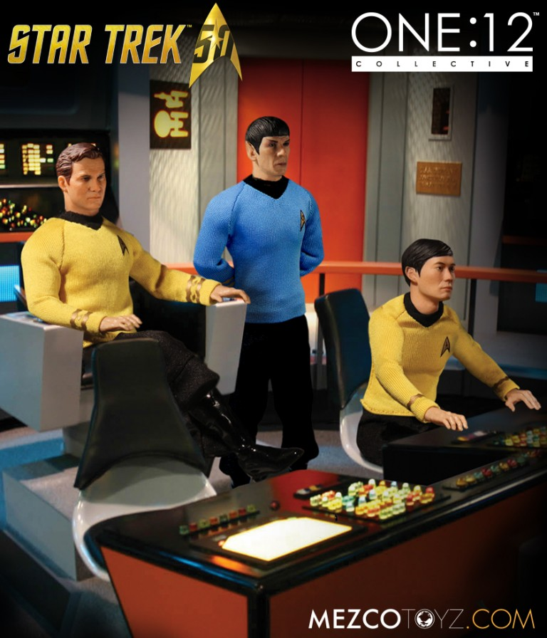 The One:12 Collective Star Trek Figures Boldly Go Where No Collectable Has Gone Before