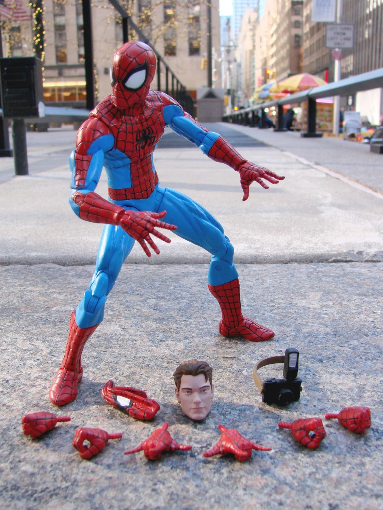 Spectacular Spider-Man Swings Into the Marvel Shop With an All-New Marvel Select Figure!
