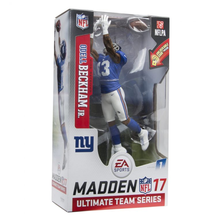 MCFARLANE TOYS HUDDLES UP WITH EA SPORTS TO GIVE GAMERS A NEW WAY TO ENJOY MADDEN ULTIMATE TEAM IN EA SPORTS MADDEN NFL 17