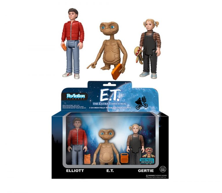 ReAction Figures E.T. the Extra-Terrestrial 3-Pack