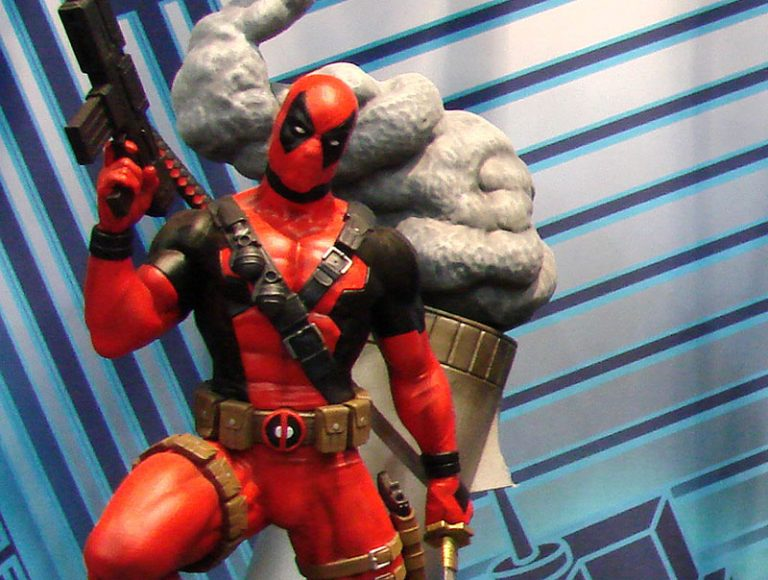 Double Down on Deadpool with New Merchandise at Comic Shops!