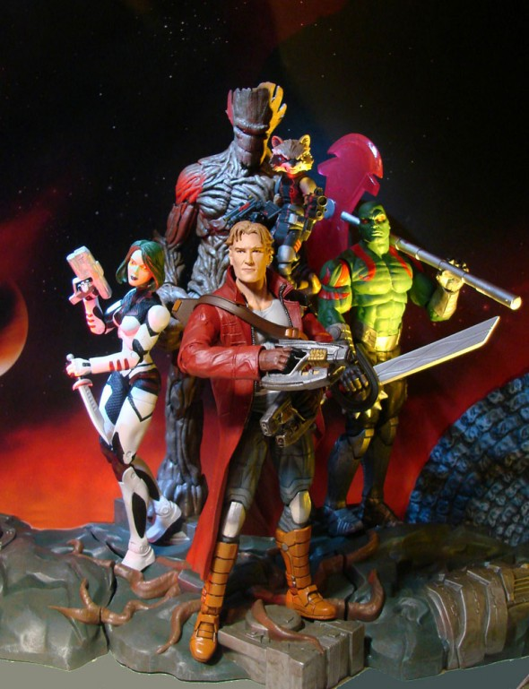 Marvel Shop Blasts Off with New Marvel Select Guardians of the Galaxy Action Figures!