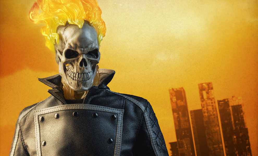 Marvel Ghost Rider Sixth Scale Feature 100385 1