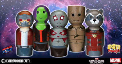 New Guardians of the Galaxy Pin Mate™ Wooden Figures Unite for Galactic Safety