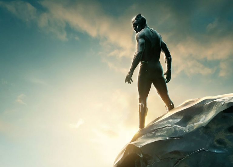 The Black Panther Springs into Action from Diamond Select Toys!