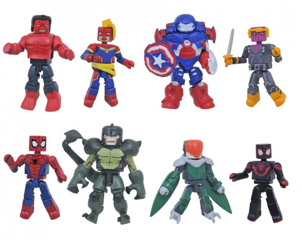 DST Marvel Animated Minimates Series 8 Revealed; Series 7 Now at Walgreens!