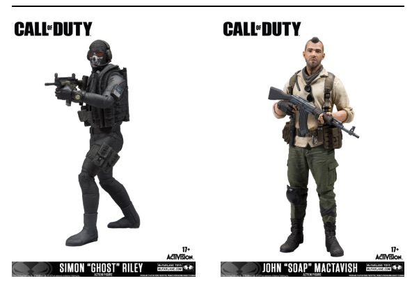 McFarlane Toys teaming with Call of Duty® to Create Collectible Figures